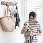 kel and mel, the marriage shop, linen tea towels, heirloom
