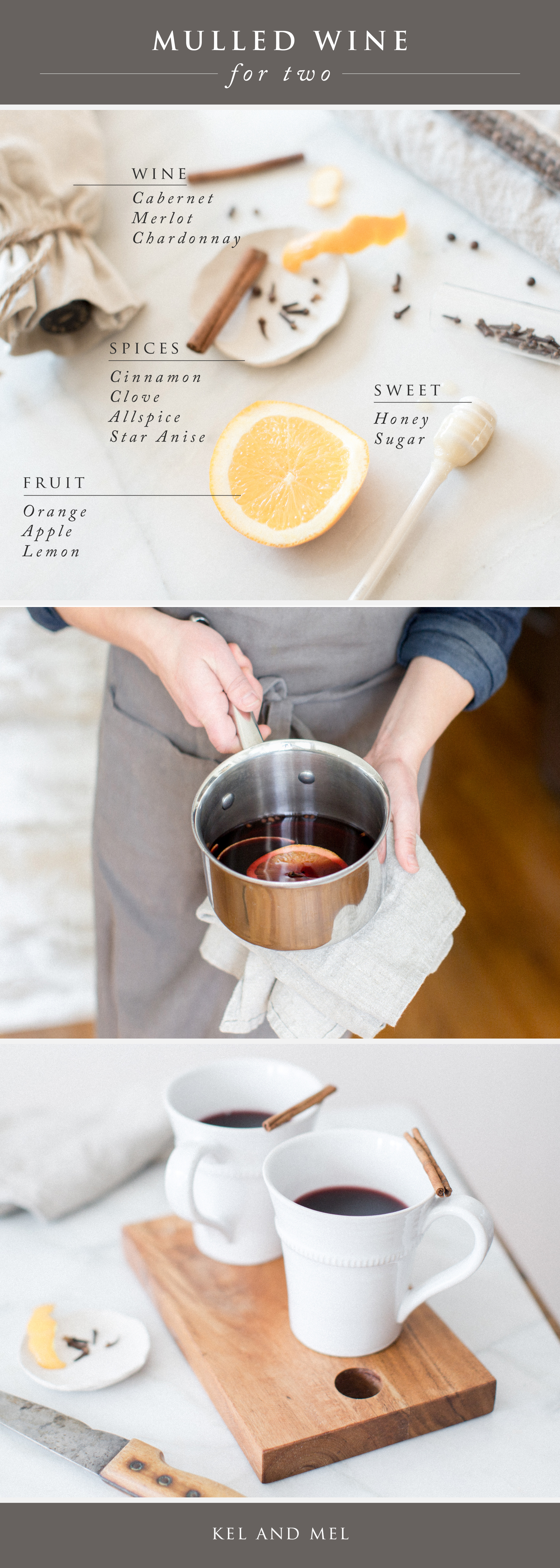 kel and mel, date night design, intentional marriage, mulled wine recipe