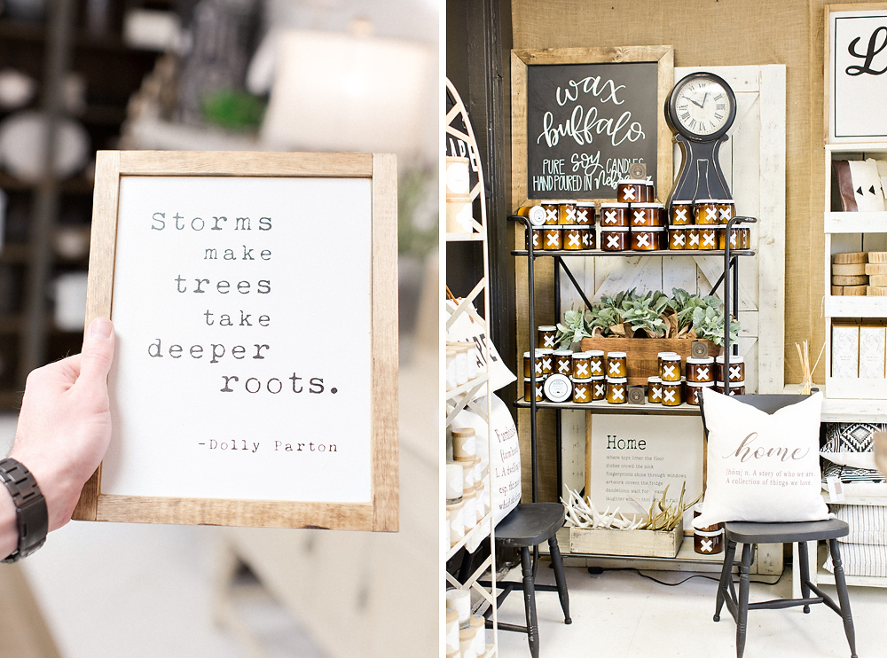 kel and mel, the marriage shop, linen and rust, arrington tennessee home decor, wax buffalo